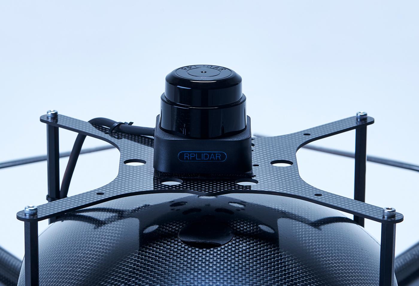 LiDARによる機体制御