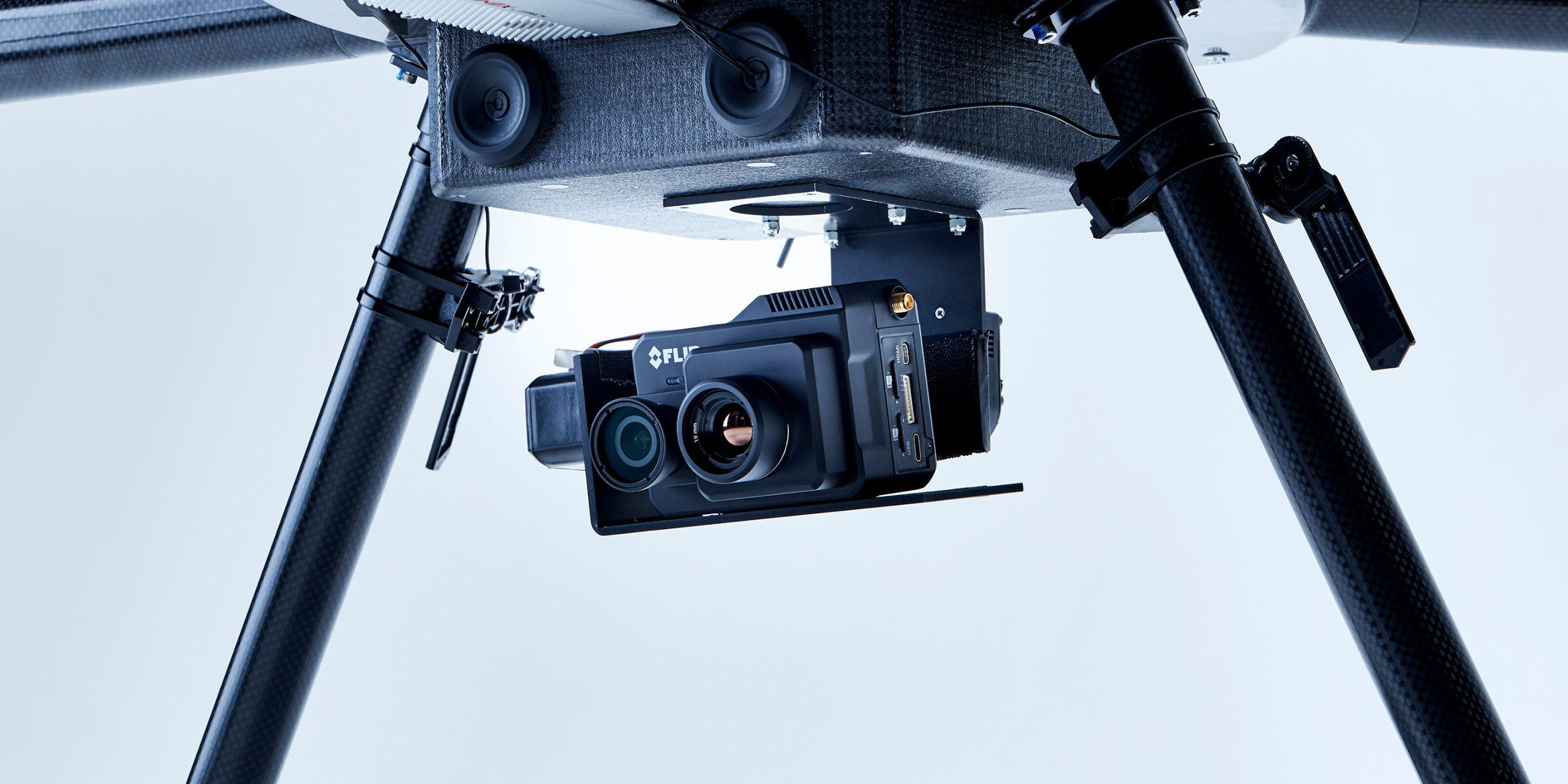 防災・災害 防災仕様に取り付けたカメラ