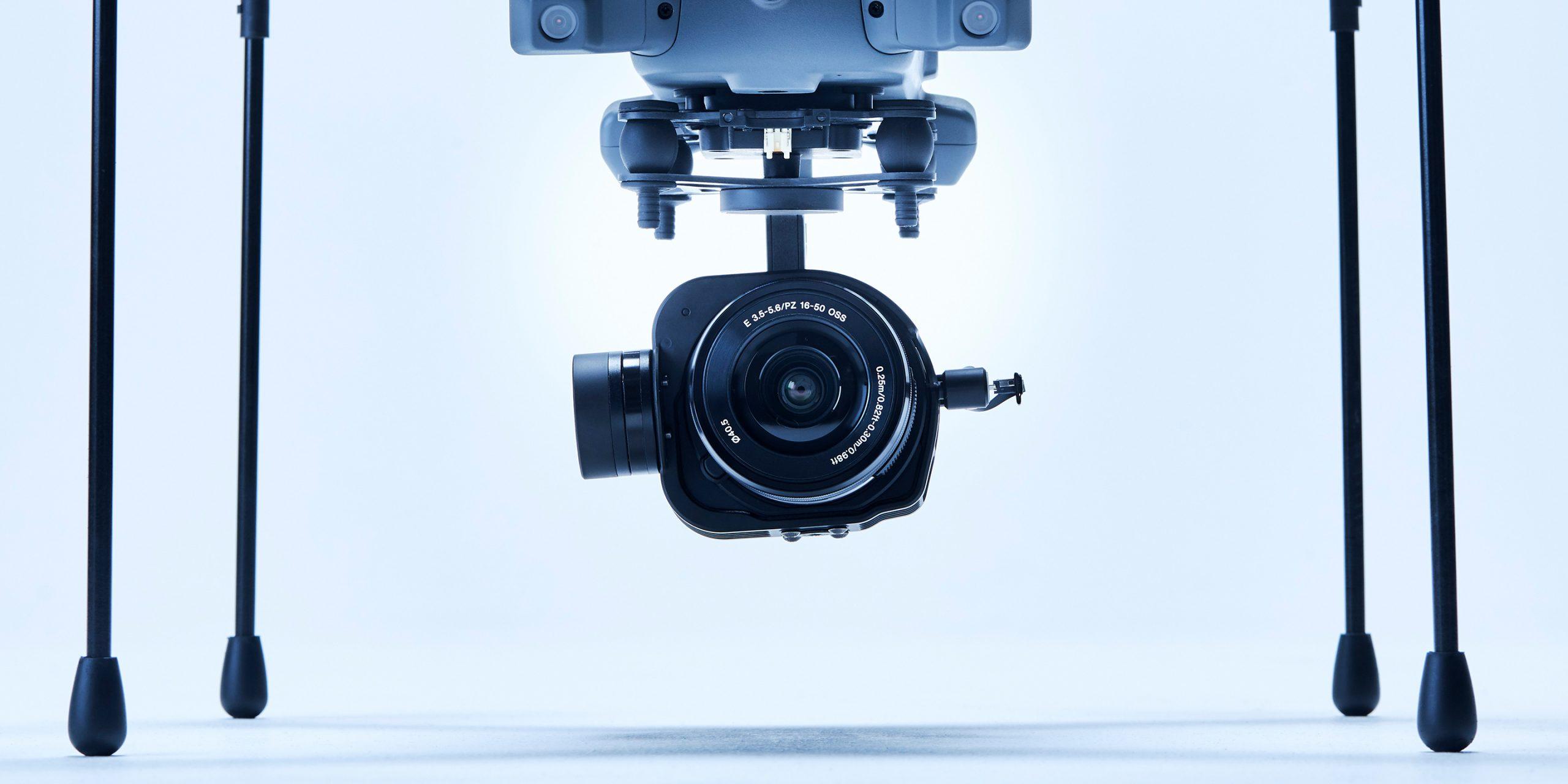 インフラ点検プラント(非GPS環境)用カメラ