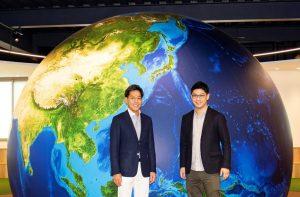 KOBASHI HOLDINGS代表取締役社長 小橋正次郎、ACSL代表取締役社長 兼 COO:鷲谷 聡之