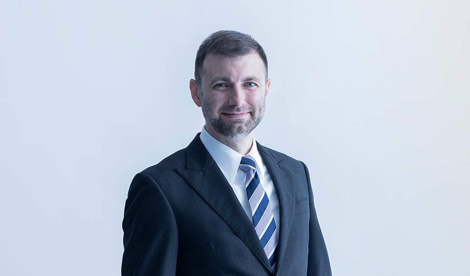 取締役CTO(最高技術責任者)クリス ラービ